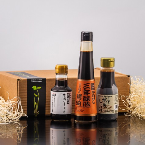 Connoisseurs Soy Sauce Collection