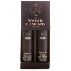 Wasabi Label Twin Pack Organic Soy 200ml Yuzu Soy 200ml
