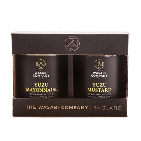 Wasabi Label Twin Pack Yuzu Mayonnaise 175g Yuzu Mustard 175g