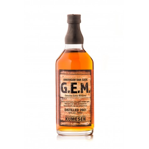 Kumesen G.E.M. - 10-year, oak-aged Awamori 700ml