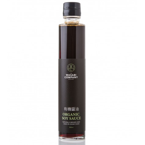 Wasabi Label Organic Soy 200ml