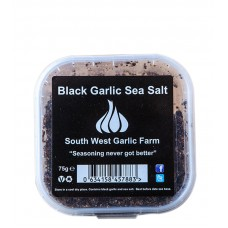 Black Garlic Sea Salt 75g