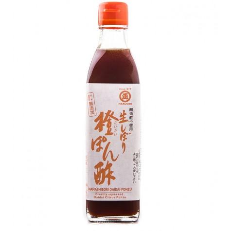 Namashibori Daidai Ponzu / Fresh Daidai Citrus Ponzu Sauce 300ml