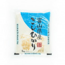 Toyama Prefecture Koshihikari Rice
