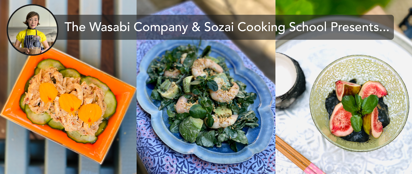 The Wasabi Company & Sozai Cooking School Presents A Tokyo Olympics 'Cook Along' Special