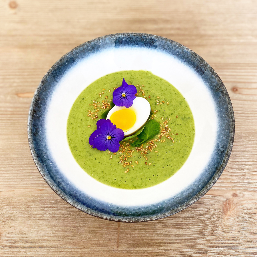 White Miso & Watercress Soup